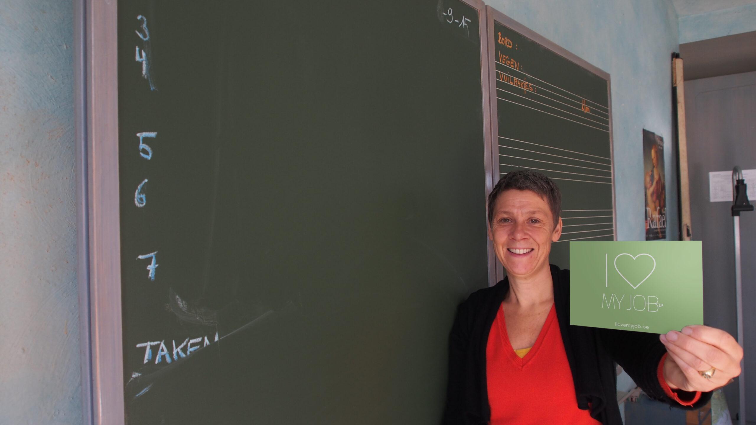 I love my job loopbaanbegeleiding kennismaken met Ellen Geers in Kortrijk